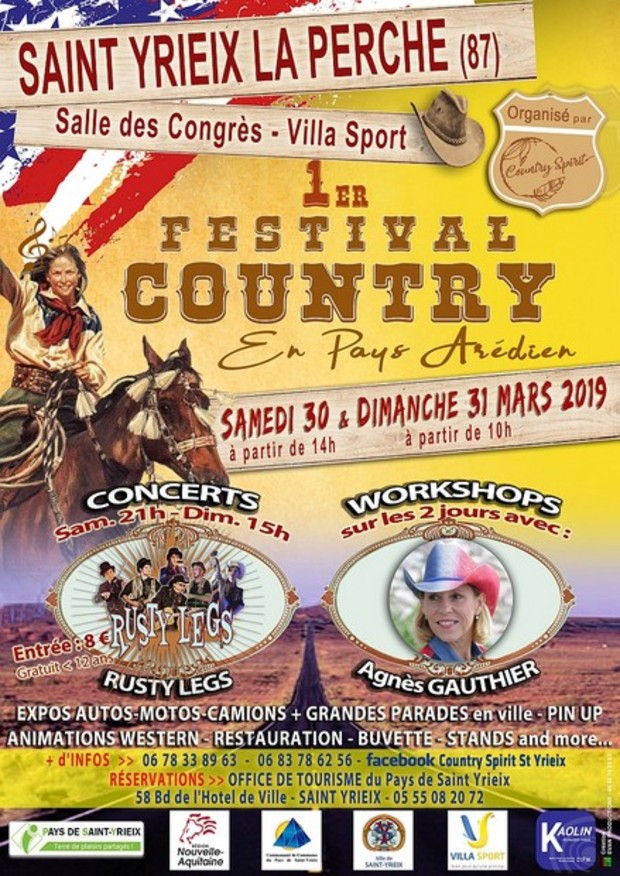 affiche festival country 1